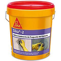 Tineta 18 lt Aditivo acelerador ultrarrápido del fraguado del cemento Sika  2