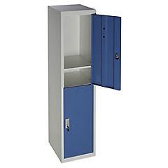 Locker de oficina acero 2 puertas con llave
