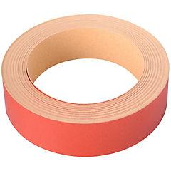 21 mm 10 m Tapacanto melamina corriente rojo,