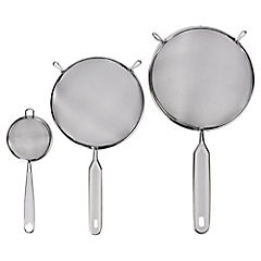 Set 3 coladores 7-14-19 cm