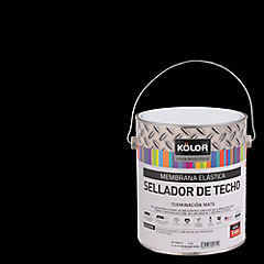 Sellador para Techos 100% elástico 1 galón Negro