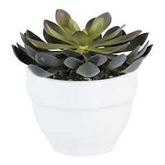 Cáctus artificial 8 cm Verde