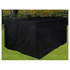 Cobertor para mesa 95x210x265 cm negro