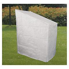 Cobertor para sillas apilables 62x85x113 cm transparente