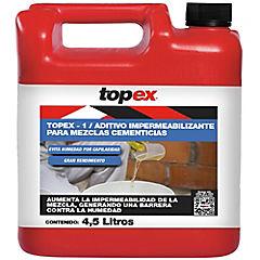 Bidón de 4.5 litros Impermeabilizante para estructuras de hormigón Topex 1