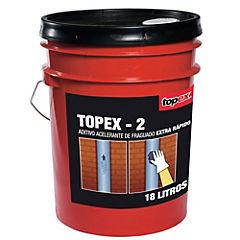 Tineta de 18 lt Acelerante ultra rápido de fraguado Topex 2