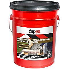 Tineta 16 litros Desmoldante Topex Desmol madera