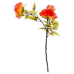 Flor Rosa x 3 Naranja