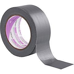 Cinta de tela gris sin residuos 48mm x 18mts
