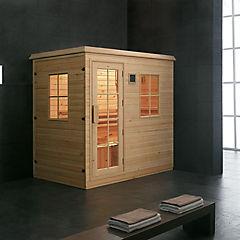 Sauna Madera Nativa 206 x 135 x 204 cm Borga