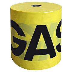 Cinta señalizadora Gas rollo 325 mts.