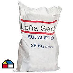 Saco de leña 25 kg para Zona Sur
