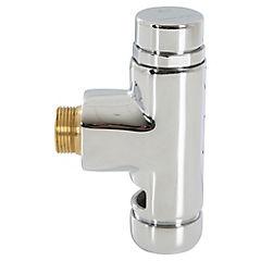 Fluxómetro externo para WC Plateado
