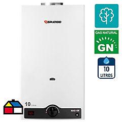 Calefón a gas natural 10 litros tiro natural