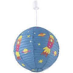 Lámpara colgante infantil 120x40 cm 60 W Cohete