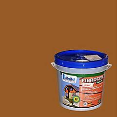 Protector Fibrocemento Opaco 4 litros Roble