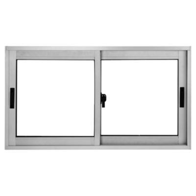91x50 cm ventana aluminio termopanel for Escalera plegable aluminio sodimac