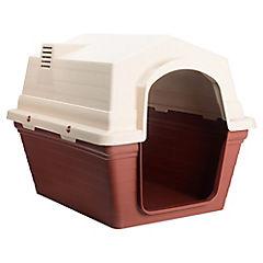 Casa plástica para perro mediana 84 x 63 x 63 cm
