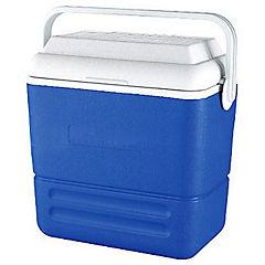 Nevera rígida con asa 16 litros azul