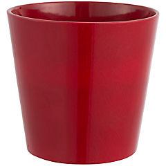 Macetero de cerámica 14 cm Burdeos
