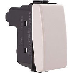 Interruptor 9/24 10A beige Matix