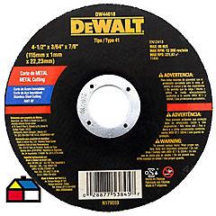 Disco corte metal 4,5