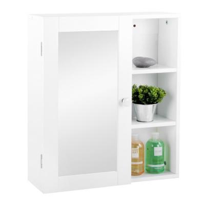 Botiqu n para ba o 52x45x15 7 cm blanco for Revestimiento plastico para banos