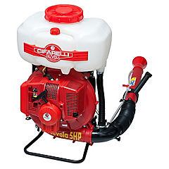Pulverizador motorizado 17 litros rojo
