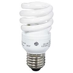 Ampolleta ahorro 12 Watts Luz fría Espiral