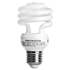 Ampolleta ahorro 19 Watts Luz fría Espiral