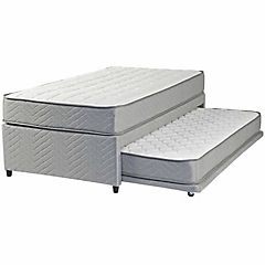 Cama diván 1 plaza box Therapedic