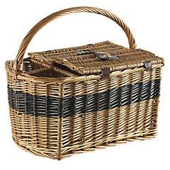 Canasto picnic con porta botella