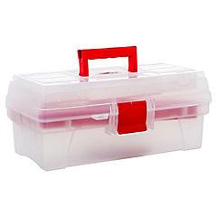 Caja de herramientas 36x21x16 cm plástico
