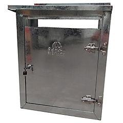 Gabinete para calefon con toldo metal 60x45x25 cm