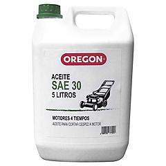 Aceite Motor 4 tiempos SAE-30 5 lt