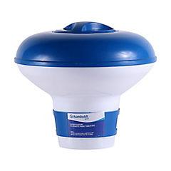 Dosificador flotante para tabletas de cloro