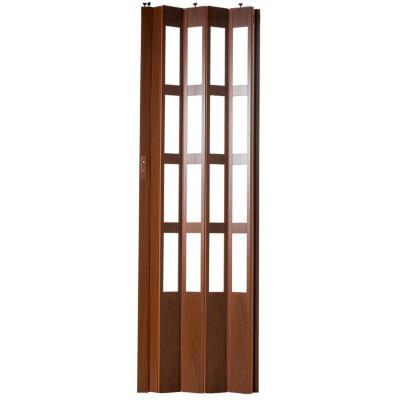 Puerta plegable pvc caoba 70 x 200 cm - Puertas de acordeon ikea ...