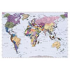 Papel fotomural Mapa 270x188 cm 4 paneles