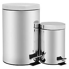 Set Papeleros 12 litros + 3 litros