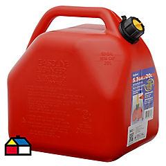 Bidón para gasolina 20 litros plástico