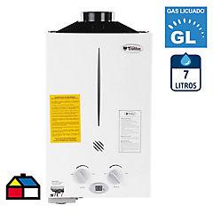Calefont GL 7 litros tiro natural automático