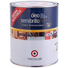 Óleo Profesional Semibrillo 1/4 galón Café Moro