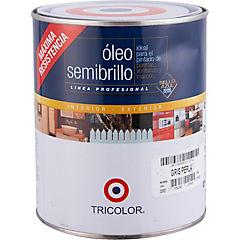 Óleo Profesional Semibrillo 1/4 galón Gris Perla