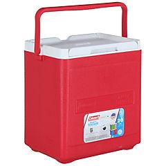 Nevera rígida con asa 17 litros rojo
