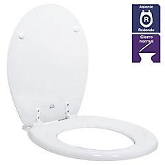 Asiento WC Madera Blanco