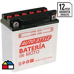 Batería para motocicleta 12 V 9 A