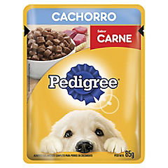 Alimento húmedo para cachorro 85 gr carne