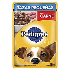 Alimento húmedo para perro adulto 100 gr carne