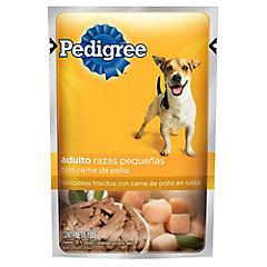 Alimento húmedo perro adulto 100gr pollo