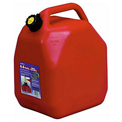 Bidón plástico 25 litros rojo